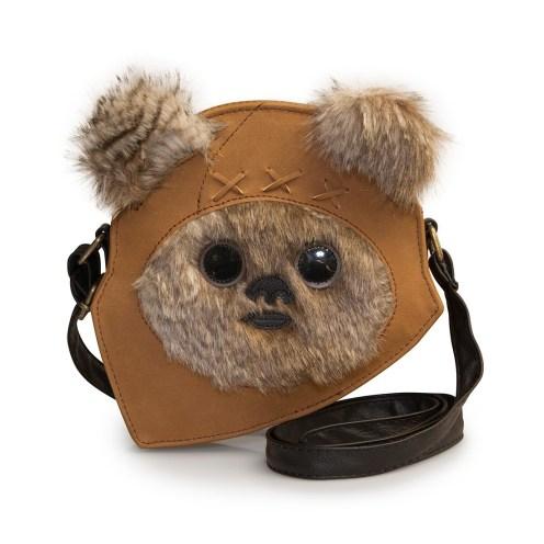 Next Star Wars Ewok Face Crossbody Bag - Loungefly