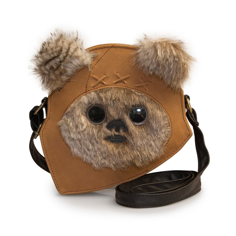 Next Star Wars Ewok Face Crossbody Bag - Loungefly