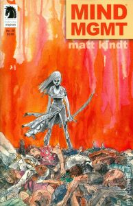 Mind MGMT - Cover by Matt Kindt