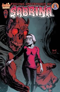 The Chiling Advenuters of Sabrina #4 - Cover by Robert Hack