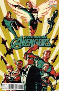 The New Avengers - cover by Michael Cho