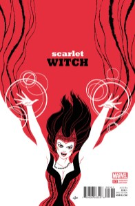 Scarlet Witch - cover by Michael Cho