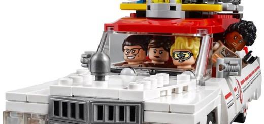 Ghostbusters LEGO Header