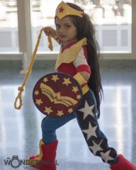 Wonder Woman - Mommy and Me Cosplay
