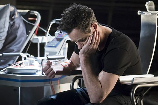 """The Flash -- """"Trajectory"""" -- Image FLA216b_0007b -- Pictured: Tom Cavanagh as Harrison Wells -- Photo: Katie Yu/The CW -- © 2016 The CW Network, LLC. All rights reserved."""