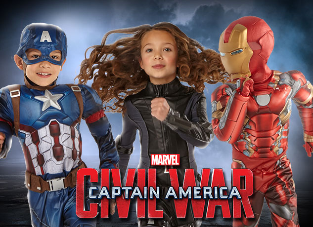Captain America: Civil War Costumes