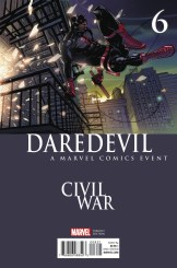 Daredevil # 6 Civil War II variant cover by Pascual Ferry