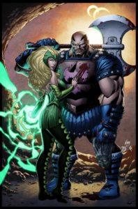 Skurge and the Enchantress
