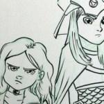 Anya and Stella Get Illustrated