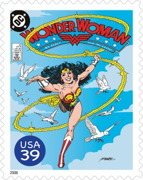 Wonder Woman 75th Anniversary Stamps