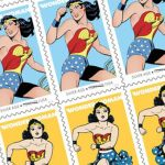 The USPS Celebrates 75 Years of Wonder Woman with New Stamps