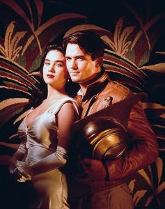 Billy Campbell and Jennifer Connolly in 'The Rocketeer'