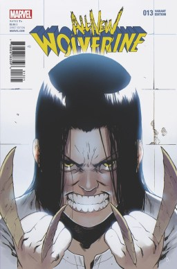Preview: All-New Wolverine #13 - Bengal Variant Cover