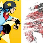 "November Book Club: ""Roller Girl"" and ""Whiteout"""