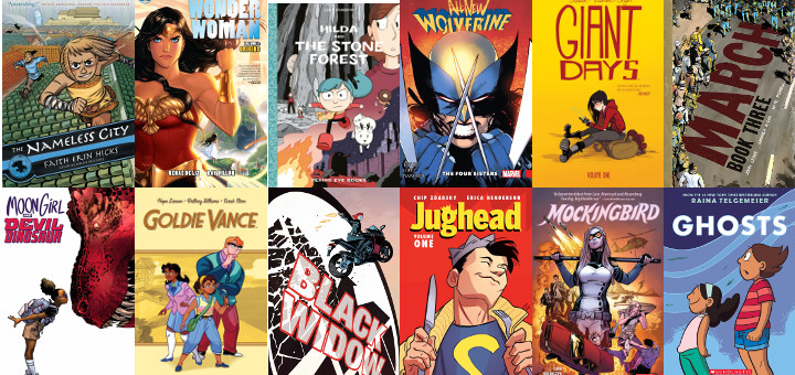The Best Comics of 2016 for Kids and Teens | Heroic Girls