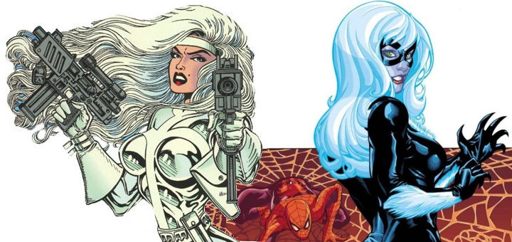 Silver Sable and Black Cat
