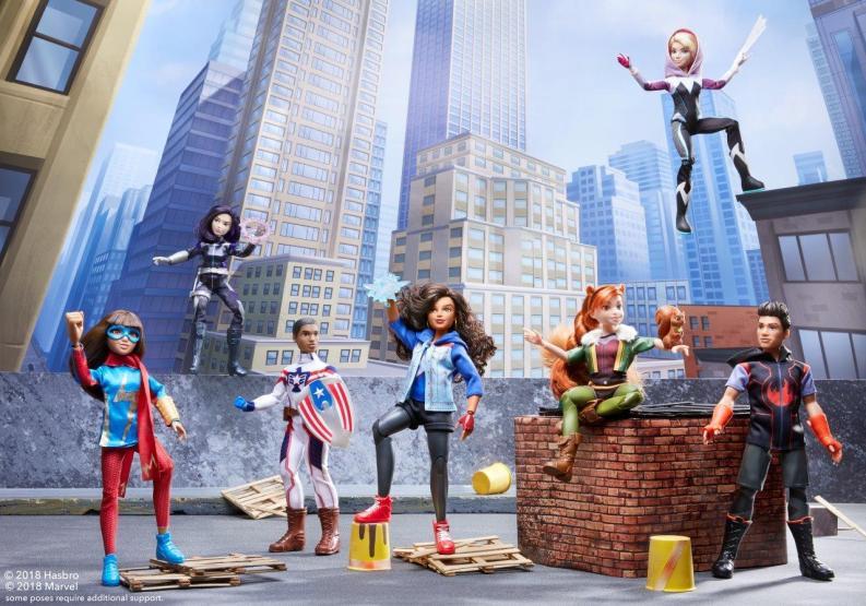 Marvel Rising Dolls