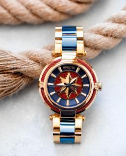 Captain Marvel Watch - INVICTA - MSRP: $299