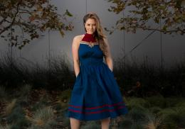 Captain Marvel Dress - HerUniverse - MSRP: $79.90