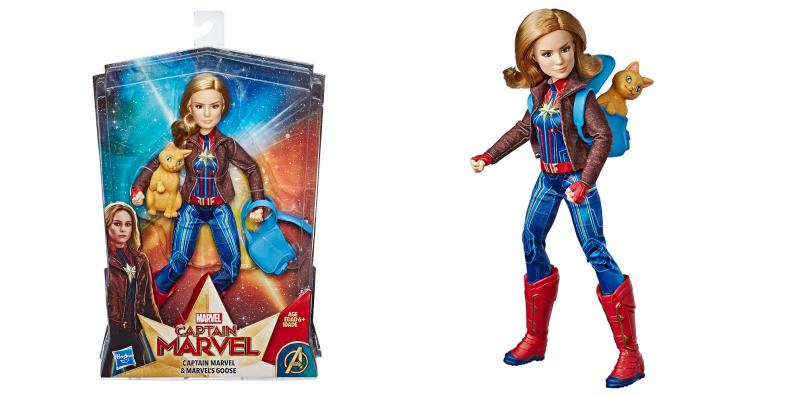 Captain Marvel and Marvel's Goose Doll - Hasbro - MSRP: $24.99