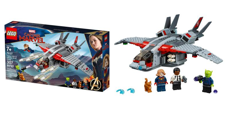 Captain Marvel and the Skrull Attack - LEGO - MSRP: $29.99