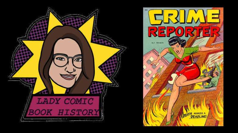 Lady Comic Book History - End of the Golden Age