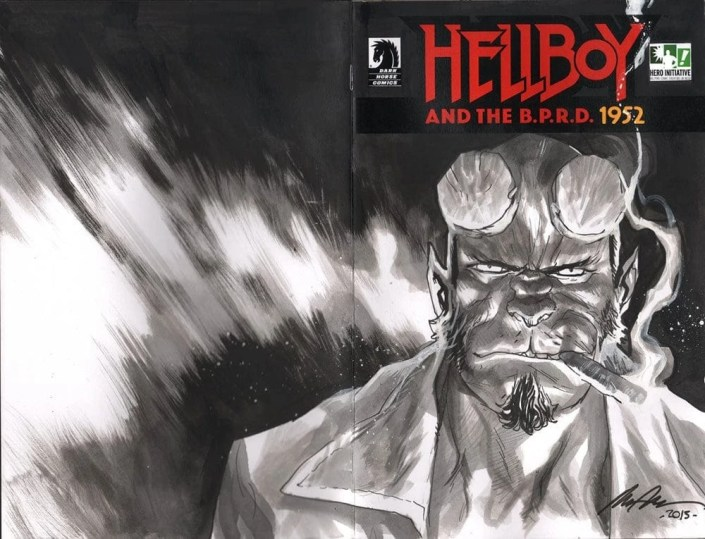 100 Hellboy Project - Rafael Albuquerque