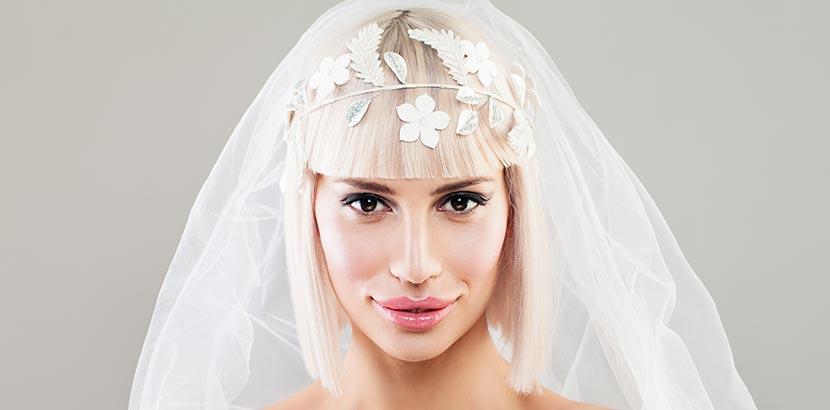 Hochzeitsfrisuren Lange Haare Offen Mit Schleier Brautfrisuren