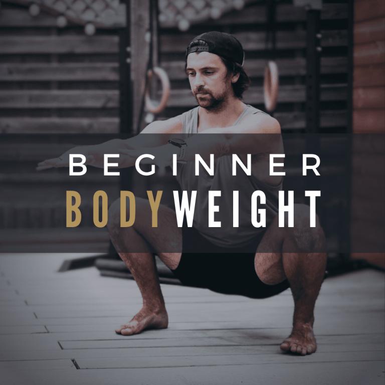 Beginner Bodyweight Program