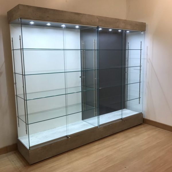concrete trophy display cabinet