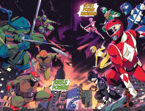 Mighty Morphin Power Rangers vs Ninja Turtles : Turtles Rangers !
