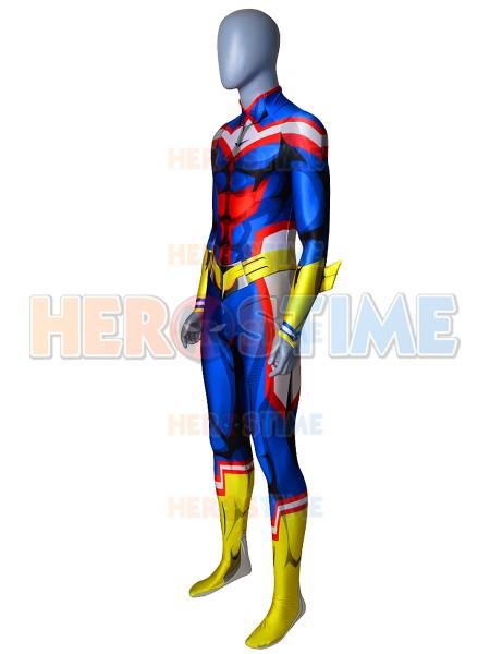 All Might Uniform My Hero Academia Toshinori Yagi Cosplay Costume