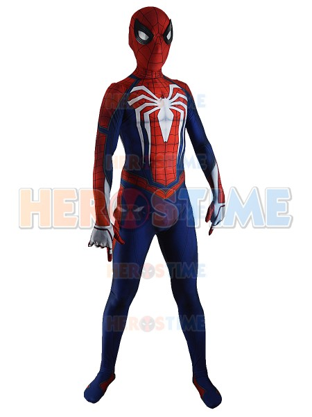 Insomniac Spider Man Costume PS4 Game Spiderman Cosplay Suit