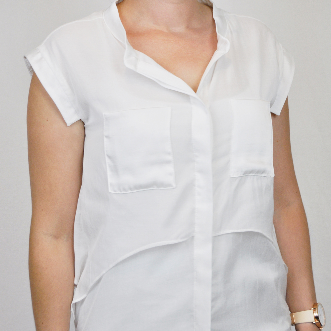 StyleWe White Blouse
