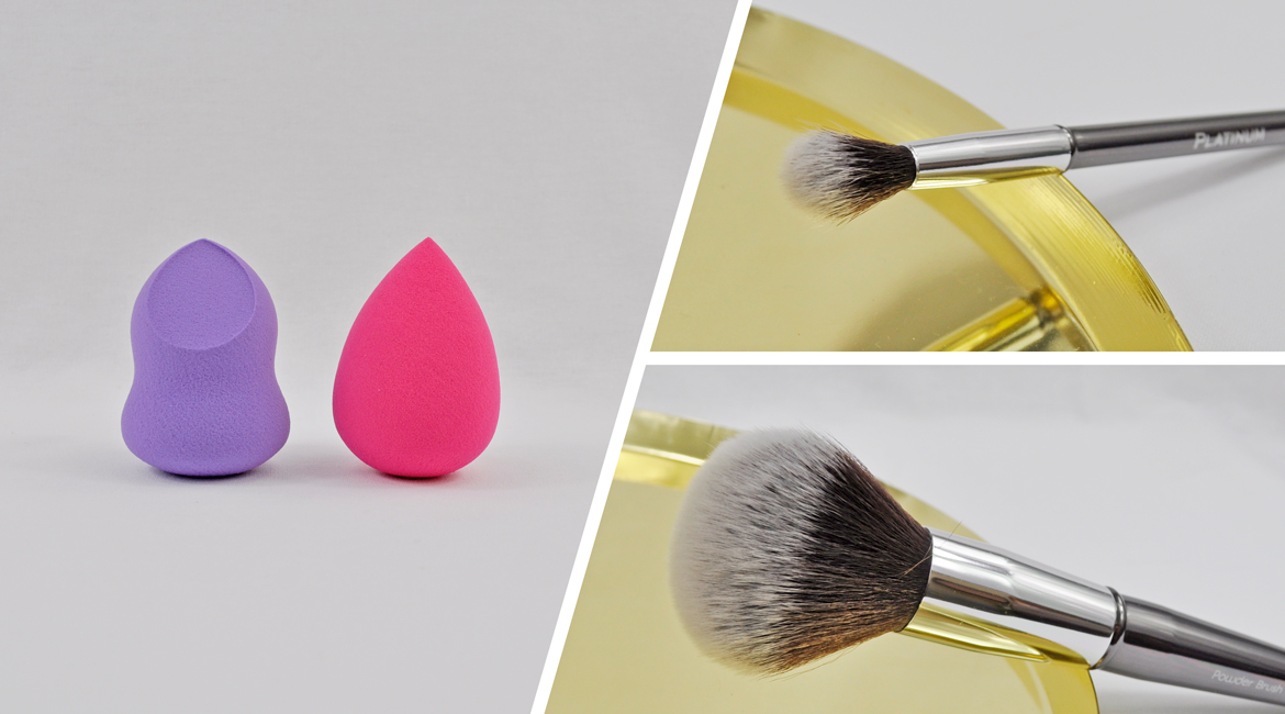 Platinum Beauty makeup Brushes and sponges