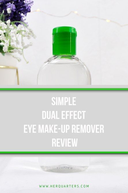 simple eye makeup remover pinterest