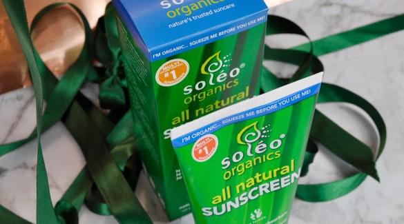 Soleo Organics Sunscreen
