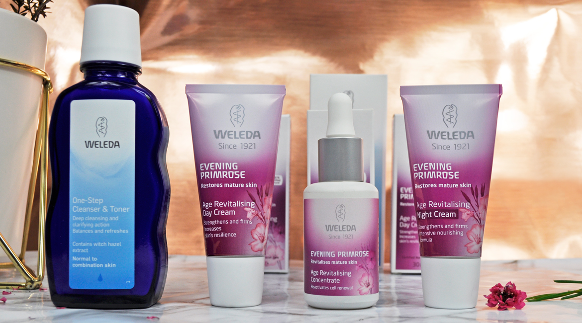 weleda evening primrose products
