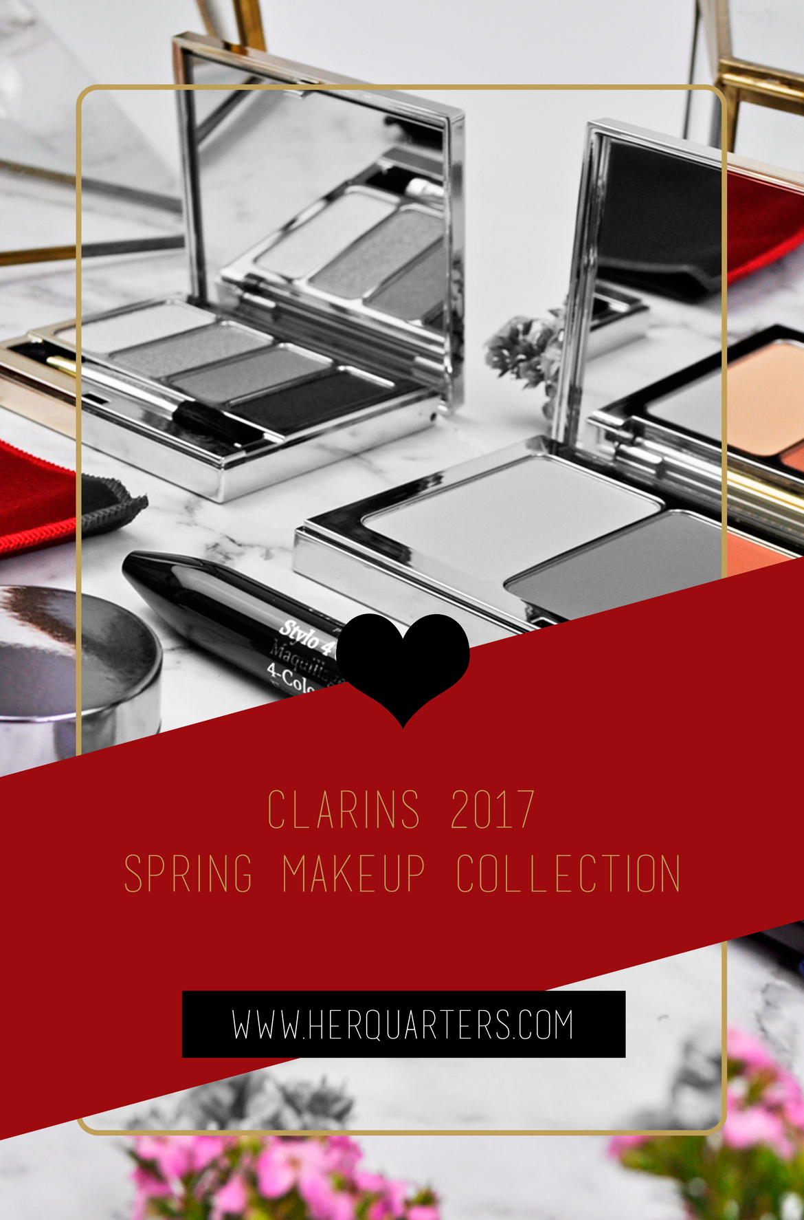 Clarins 2017 Spring Collection Pinterest