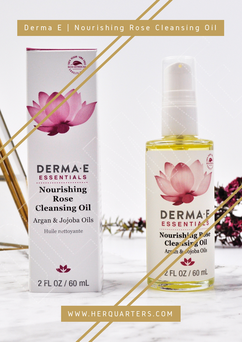 Derma E Rose Cleansing oil pinterest