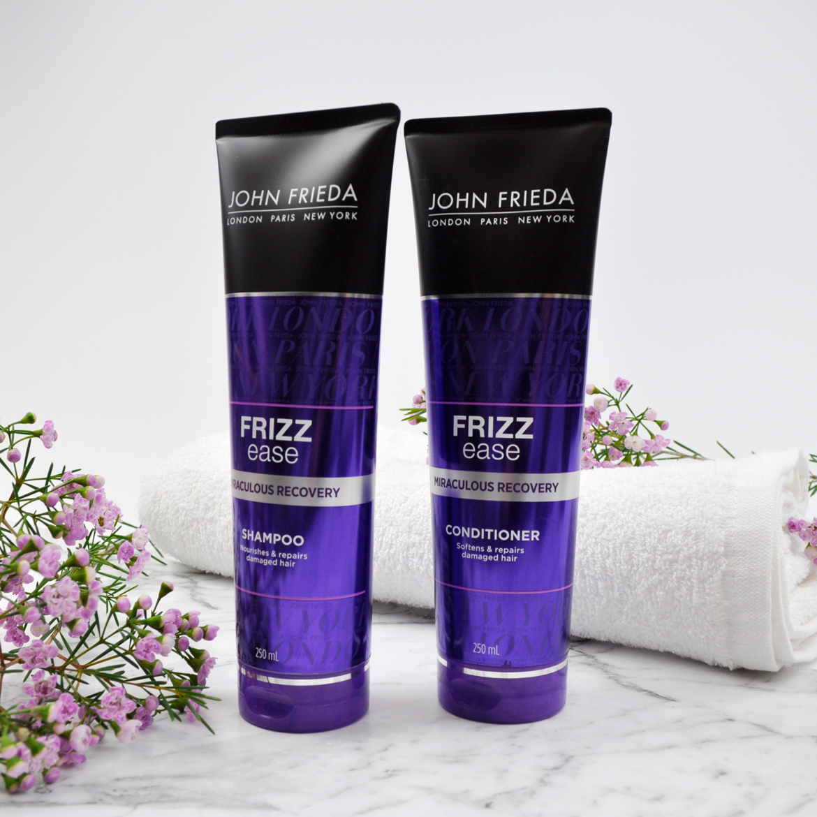 John Frieda Frizz Ease Miraculous Recovery Shampoo and Conditioner