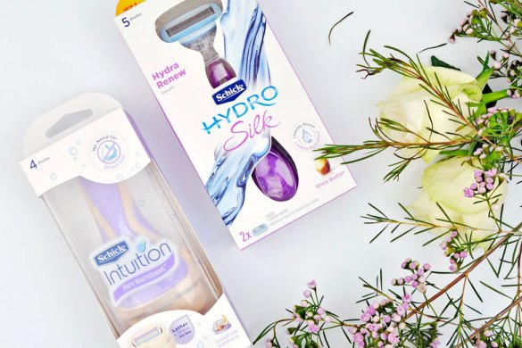 Schick Hydro Silk and Schick Intuition