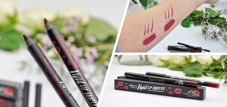 MODELROCK Cosmetics Vivid Lip Shapers SkinnyStixz