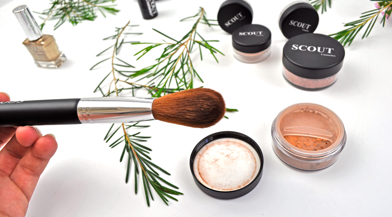 Scout Cosmetics Vegan Blush Brush