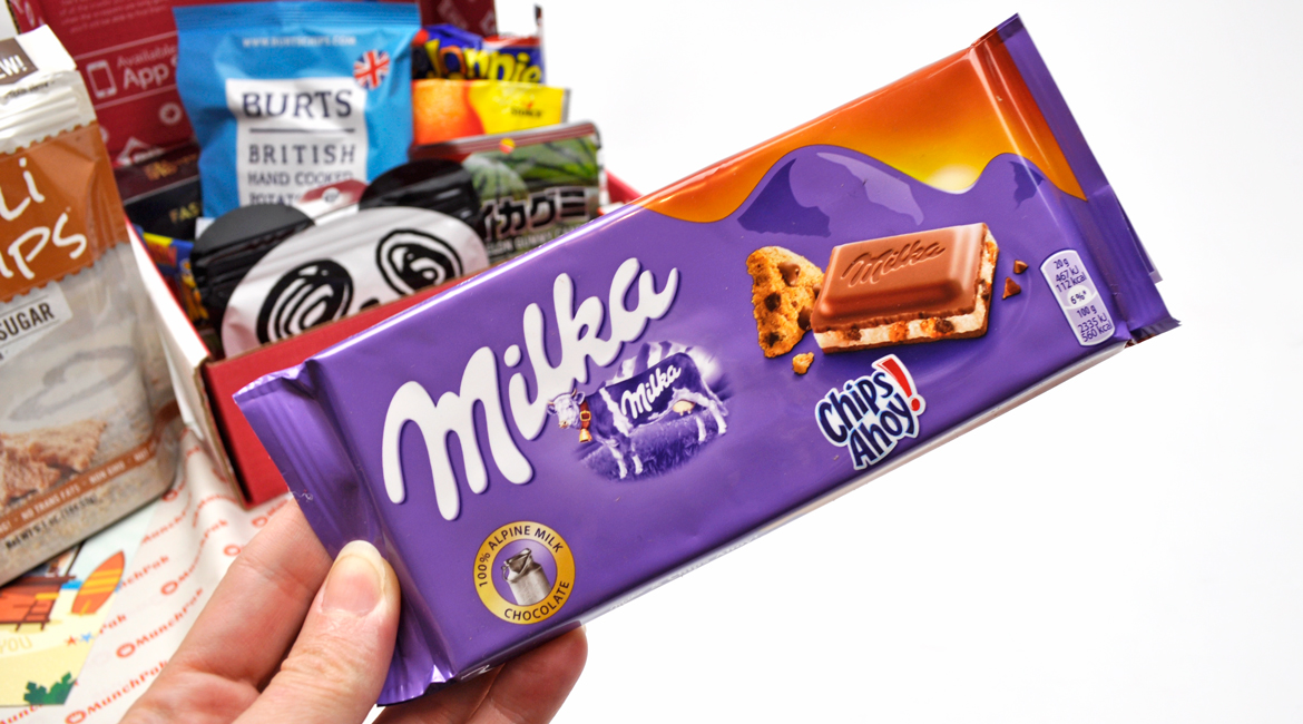 Milka Chips Ahoy Chocolate Bar