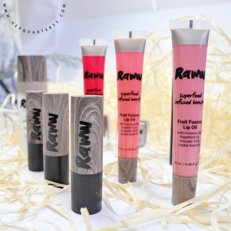 Raww cosmetics review