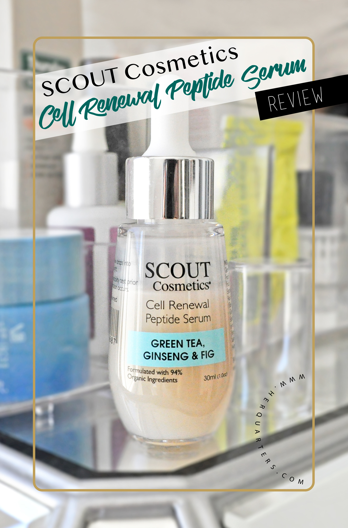 Scout_cell renewal peptide serum Pinterest