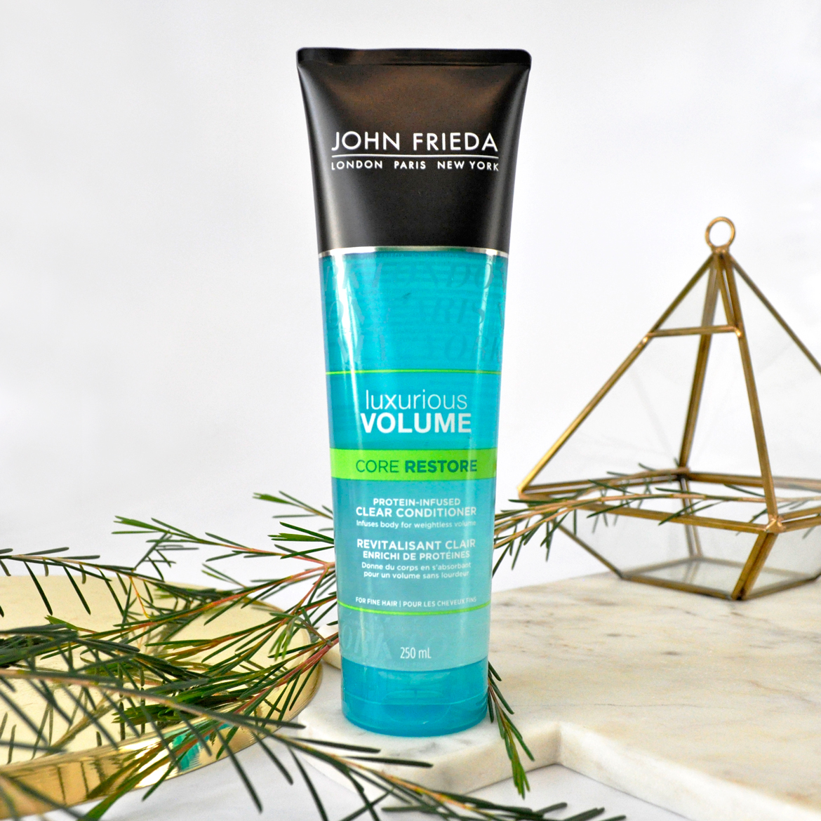 John Freida Luxurious Volume Core Restore Protein-Infused Clear Conditioner