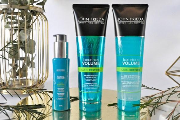 John Freida uxurious Volume Core Restore Range