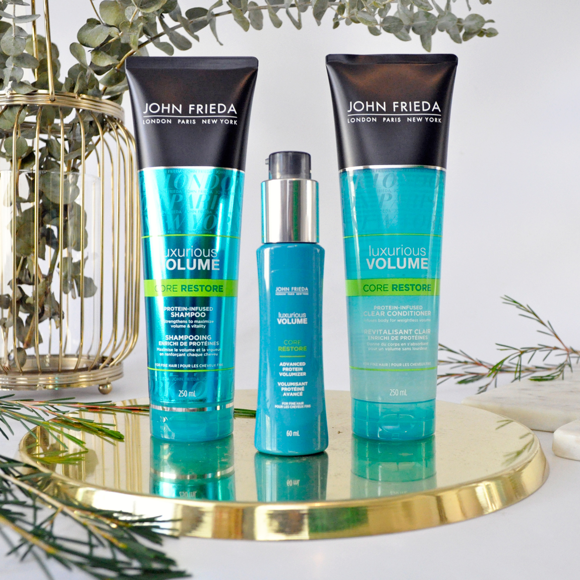 John Freida Luxurious Volume Core Restore Range